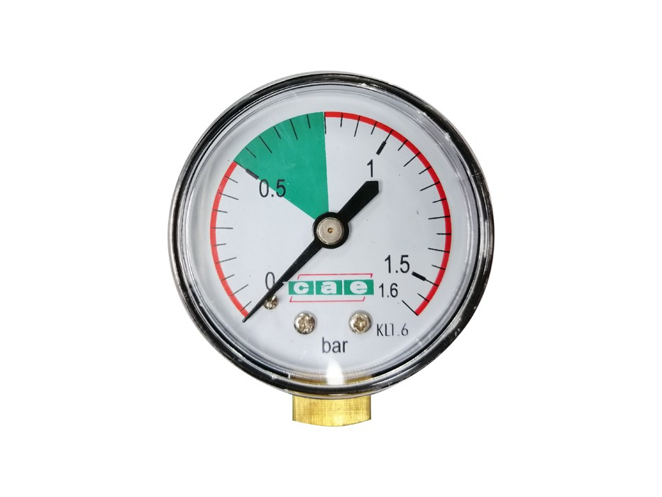 Manometer for air pump