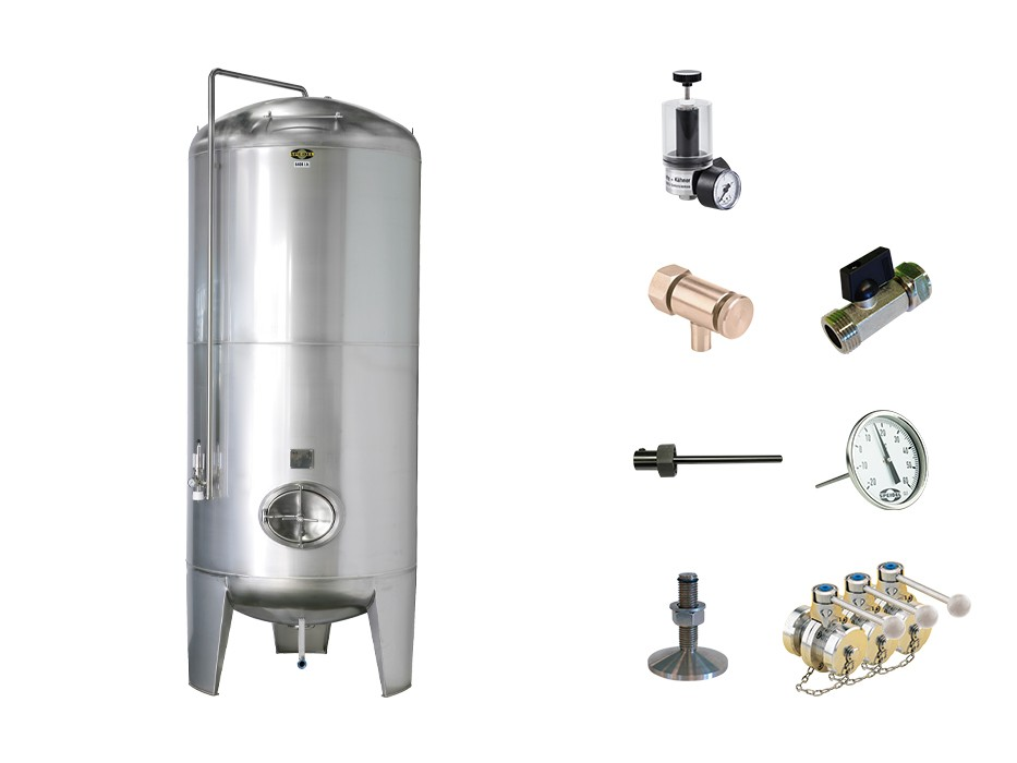 »Stainless steel tank FS-MO-3B« KIT