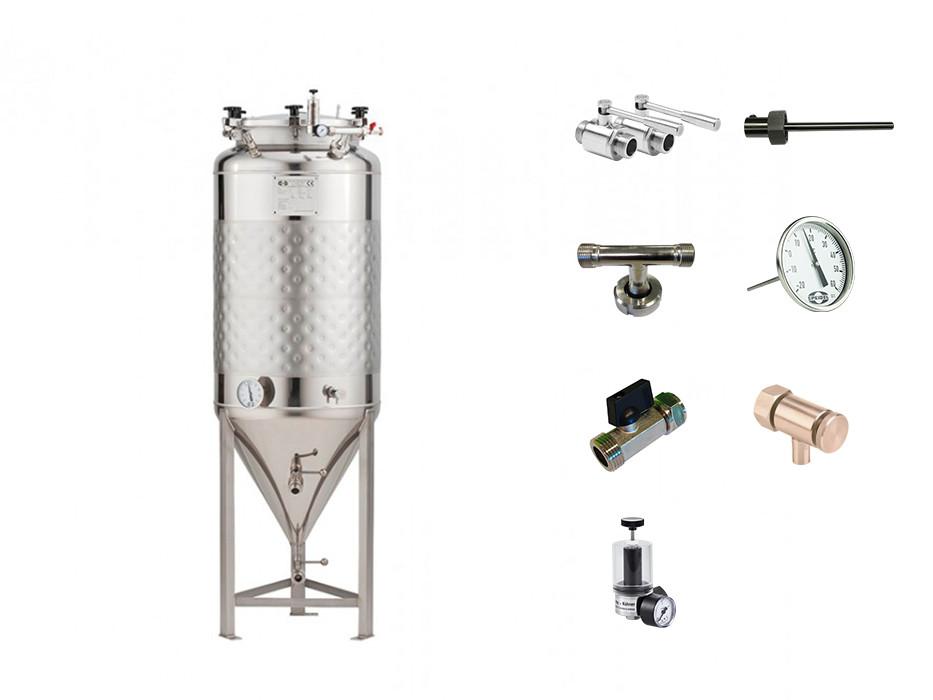 Set »Druckbehälter FD-1.2B ZKG«