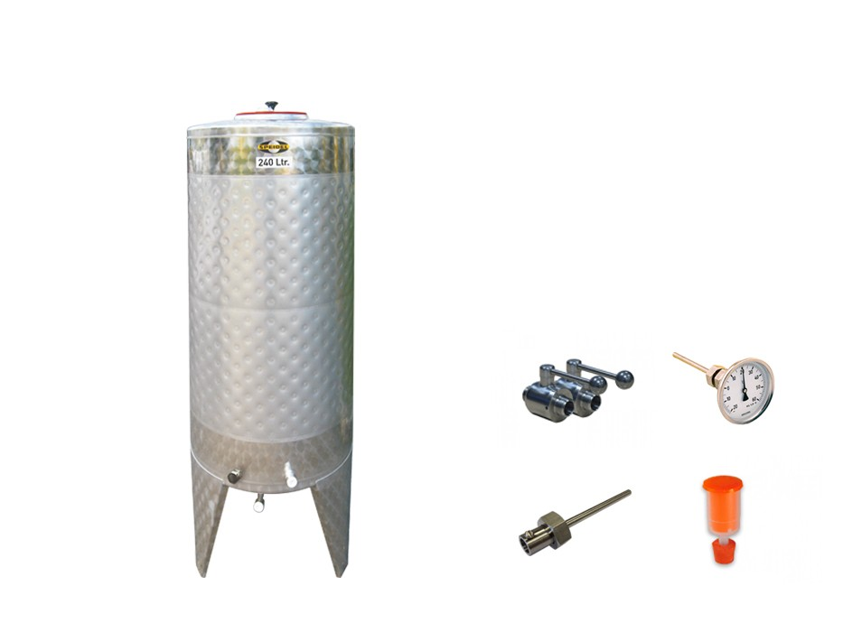 »Fermentation and storage tank FD-S« KIT