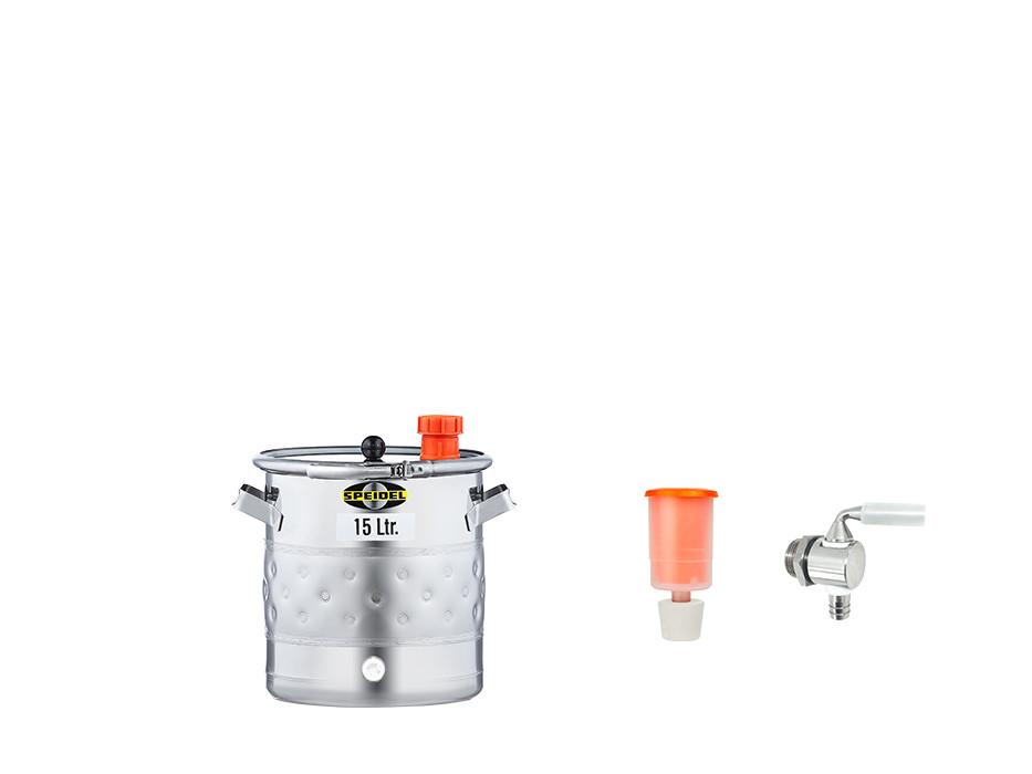 »Fermentation and storage barrel UF with double jacket« KIT